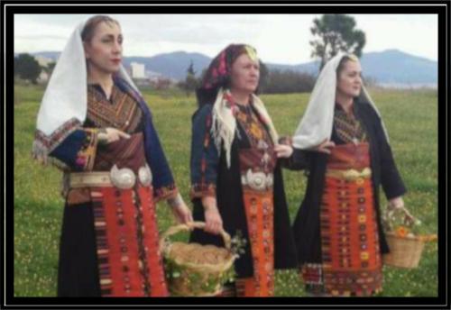 Αναβίωση του εθίμου της Ρουμπάνας. 31 Μαρτίου, Καλοχώρι,Θεσσαλονίκη.